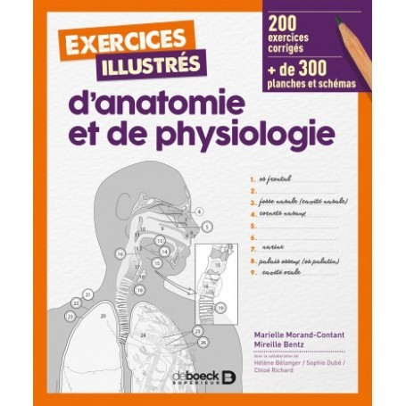 Exercices illustrés d'anatomie et de physiologie