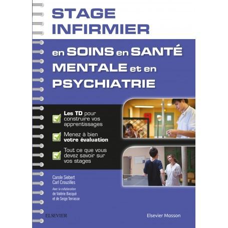 Stage infirmier en soin en santé mentale et en psychiatrie