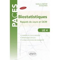 Biostatistiques UE4 : rappel de cours et QCM