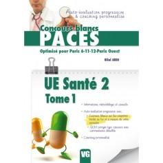UE santé 2, tome 1 - Paris 6, 11, 12, Paris ouest