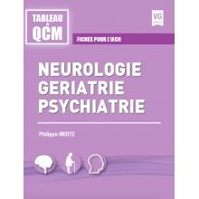 Neurologie, gériatrie, psychiatrie