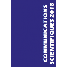 Communications scientifiques MAPAR 2018