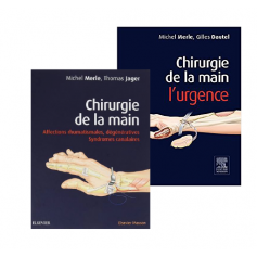 Chirurgie de la main - Pack 2 volumes