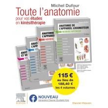 Anatomie de l'appareil locomoteur - Pack 4 tomes