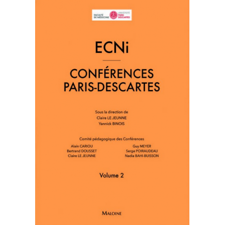 ECNi : conférences Paris Descartes, volume 2
