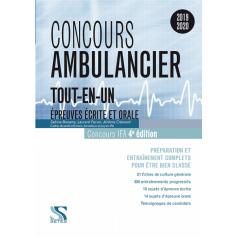 Concours ambulancier : tout-en-un