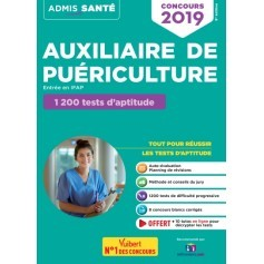 Concours auxiliaire de puériculture : 1200 tests d'aptitude