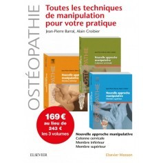 Nouvelle approche manipulative - Pack 3 tomes