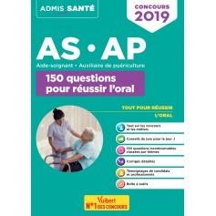 Concours AS/AP : 150 questions pour réussir l'oral