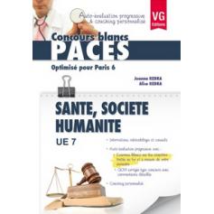 UE 7 - Santé publique, sciences humaines